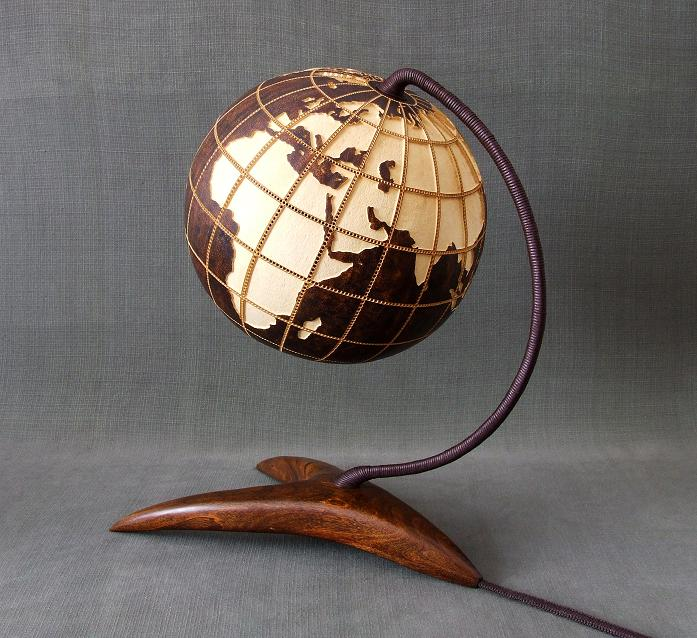 Table lamp XIV Globe II (d2)