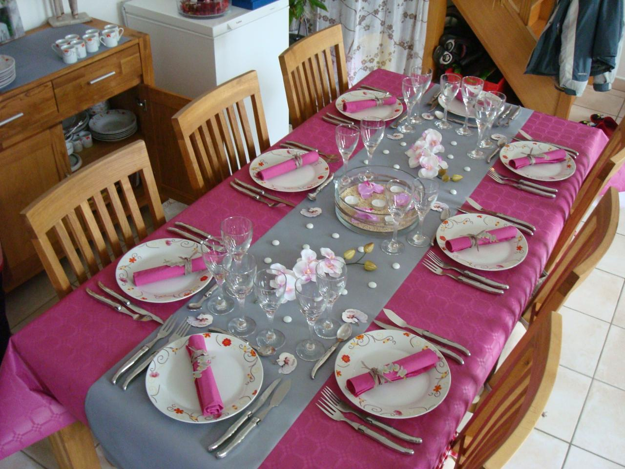 D coration maison anniversaire for Decoration de la table