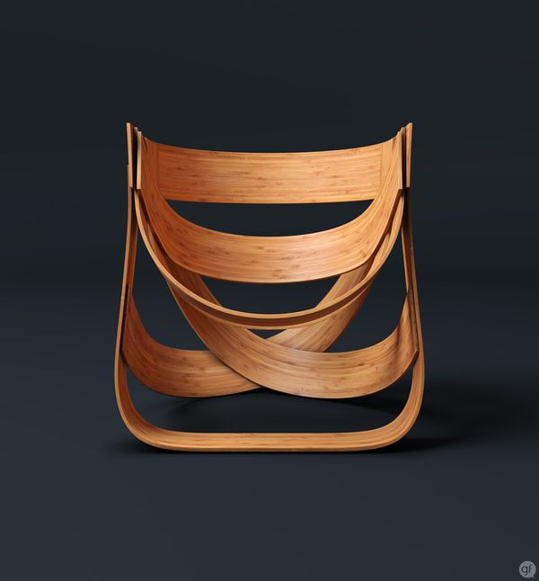 Bamboestoel Chair by Remy. Beautiful and unusual.
