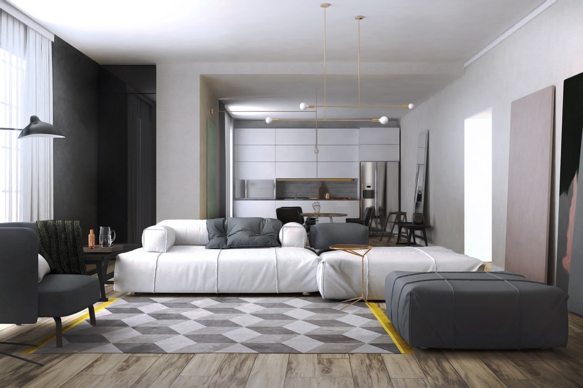 yellow-and-gray-living-room-decor