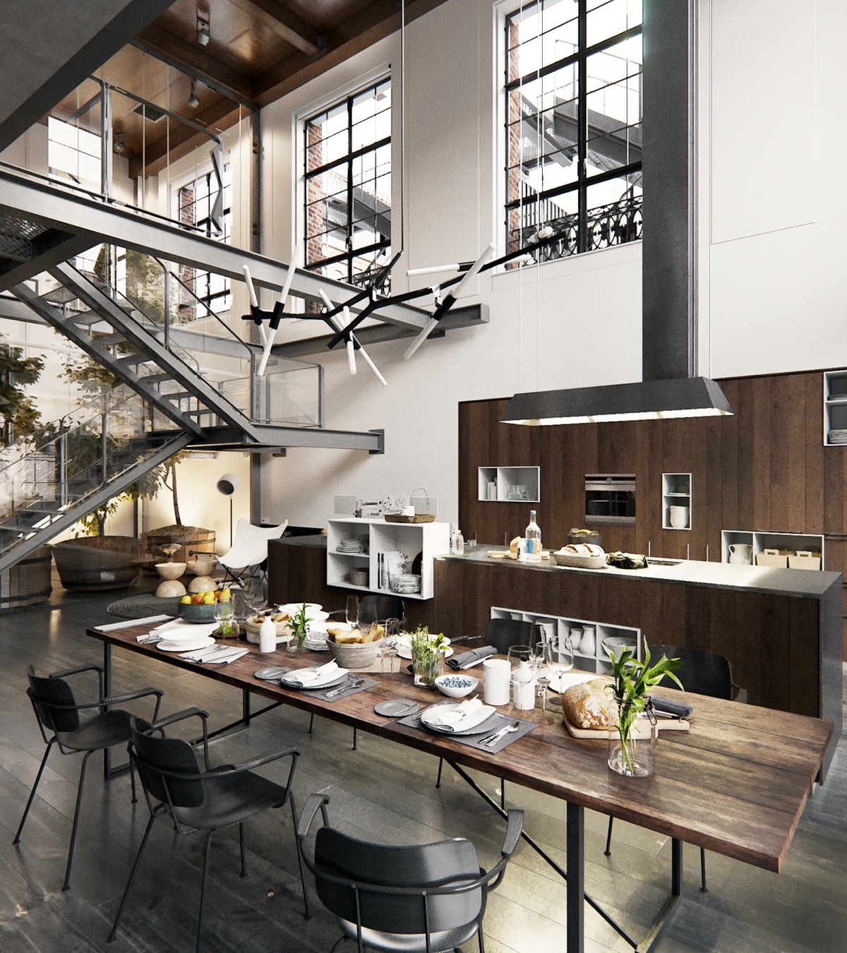 Amazing-Kitchen-Dream-Kitchen-New-York-City-Loft-Kitchen