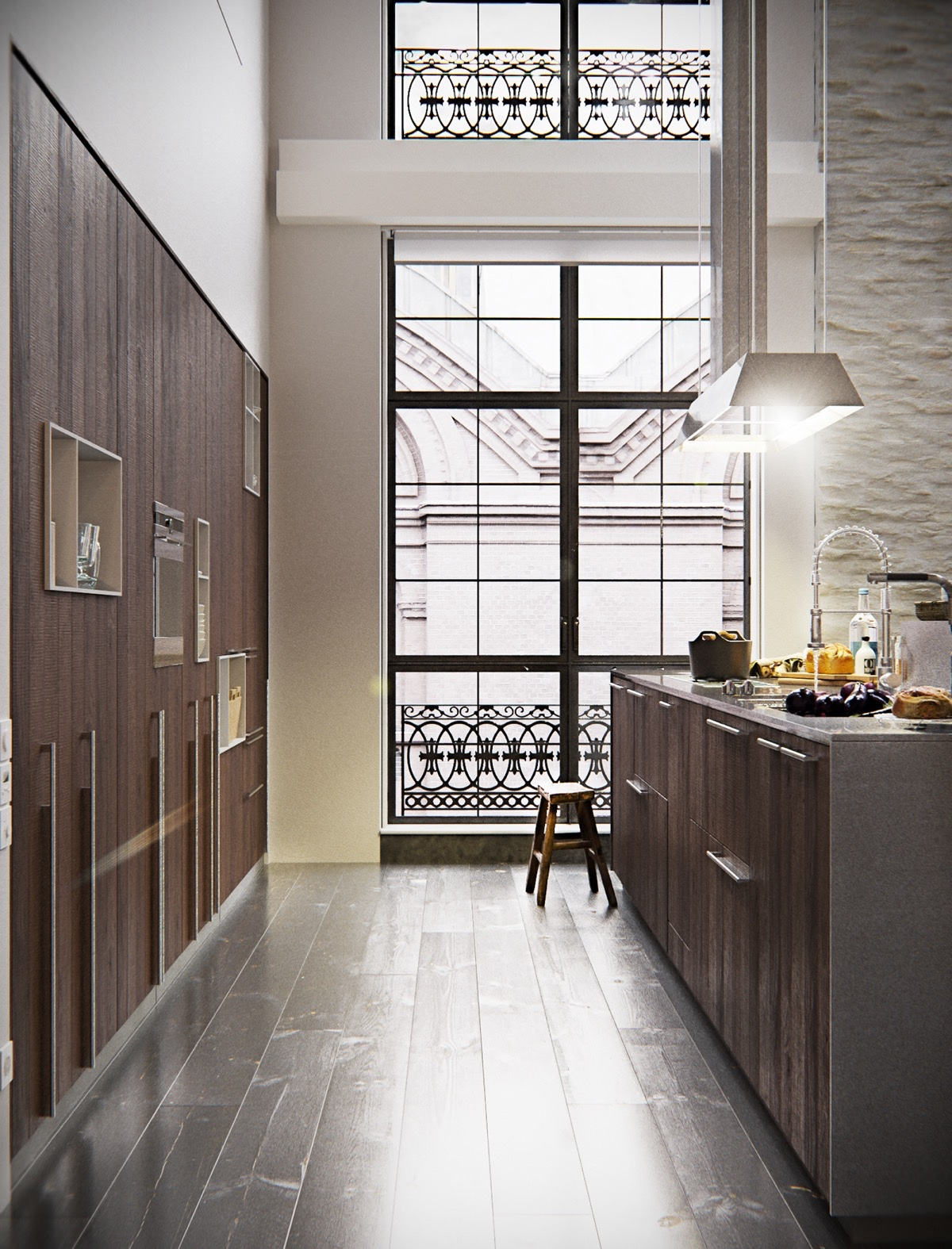 Luxury-Chef-Kitchen-New-York-City-Loft