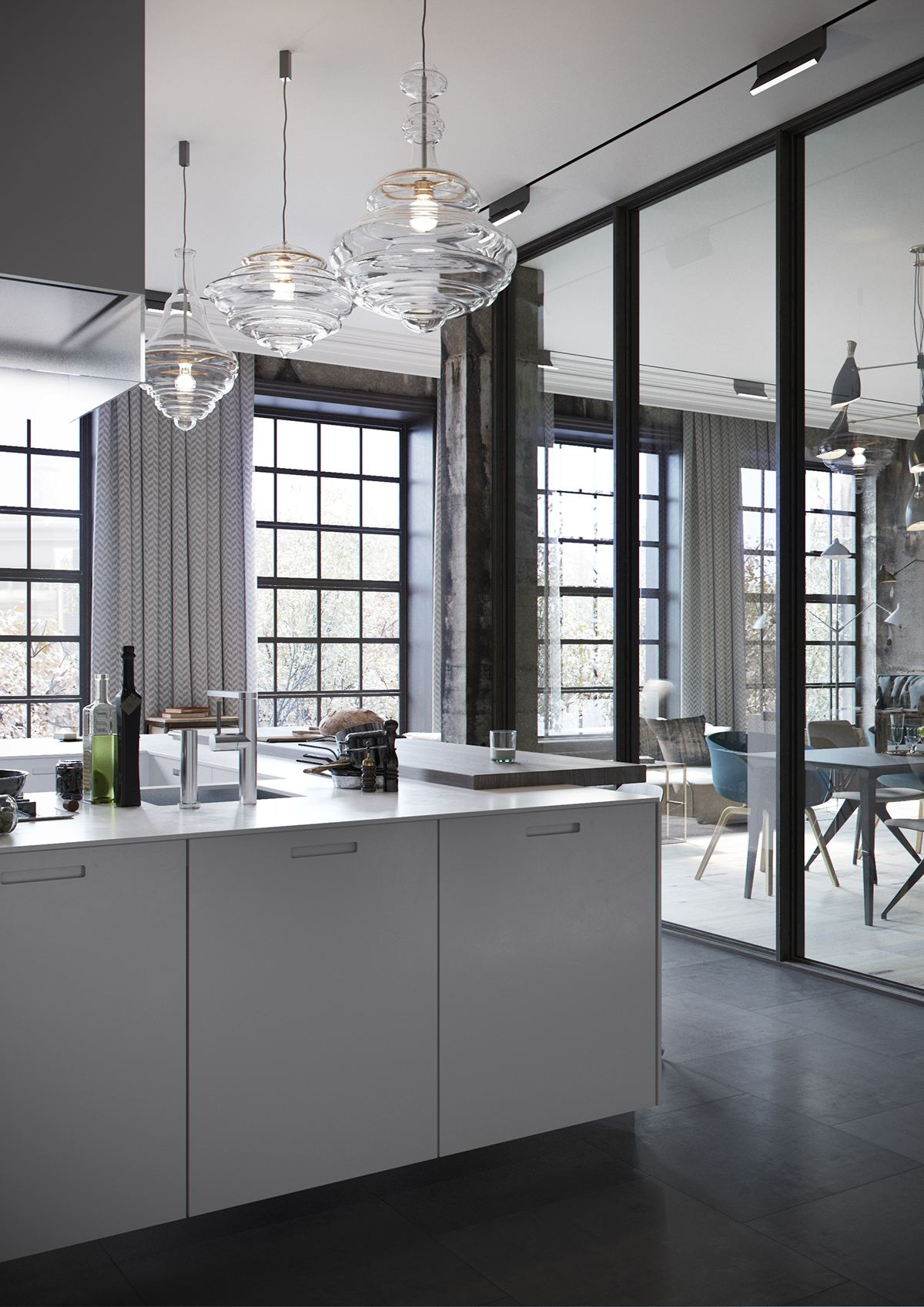 Luxury-Loft-Kitchen