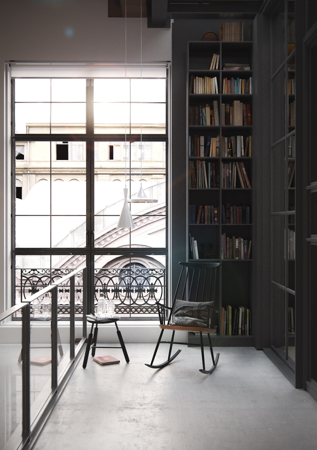 Reading-Nook-New-York-City-Loft