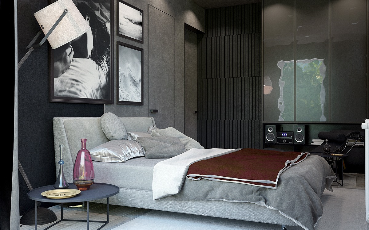 black-accent-wall-moderm-masculine-design