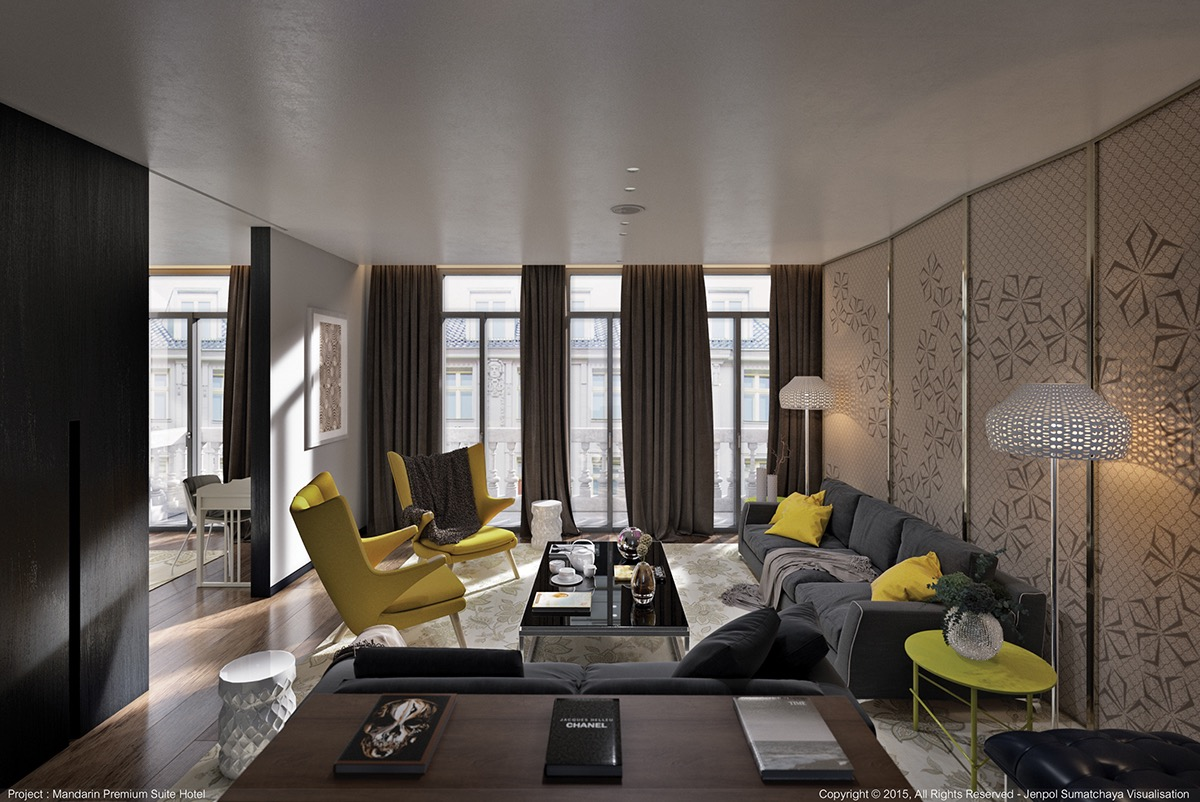 luxury-yellow-interior-accents